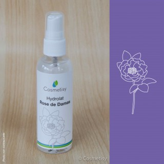 Hydrolat Rose de Damas  Volume-100 ml