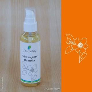 Huile végétale Camélia  Volume-50 ml