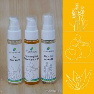 Découverte Trio Aloe Vera / Noyaux d'Abricot / Lavande