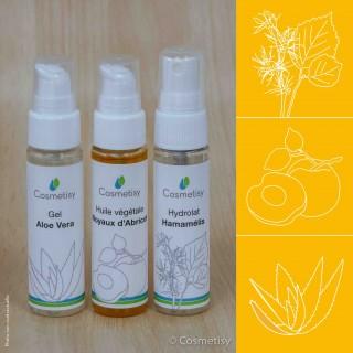Découverte Trio Aloe Vera / Noyaux d'Abricot / Hamamélis