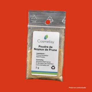 Poudre de noyaux de Prune 2 g